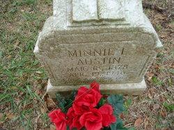 Minnie Laura <i>Ballance</i> Austin