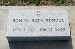 Bonna Beth <i>Roberts</i> Bender
