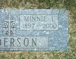 Minnie Irene <i>Liljenberg</i> Anderson