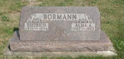Alma <i>Henrichs</i> Bormann