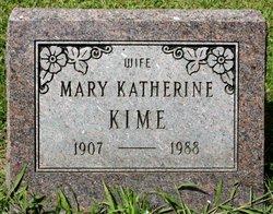 Mary Katherine Kate <i>McGowen</i> Kime