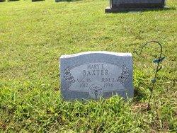 Mary Francis <i>Frakes</i> Baxter