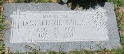 Jack Kenzie Golden