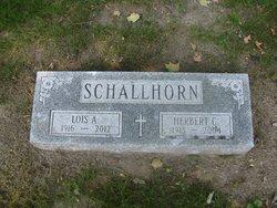 Lois Anna <i>Bernthal</i> Schallhorn