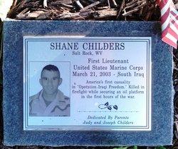 Lieut Therrel Shane Childers