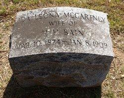 Ida Leon <i>McCartney</i> Bain