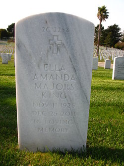 Ella Amanda <i>Majors</i> King
