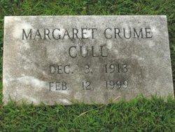 Margaret Frances <i>Crume</i> Cull