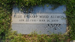 Elsie <i>Sharp</i> Allmon