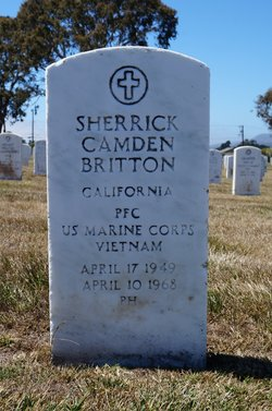 PFC Sherrick Camden Britton
