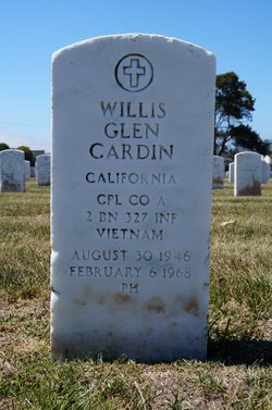 Corp Willis Glen Cardin