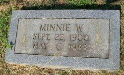 Minnie W Hartman