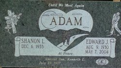 Edward Joseph Ed Adam