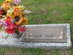 Mrs Margaret L. <i>Thomas</i> Carlton