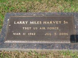 Larry Miles Harvey, Sr