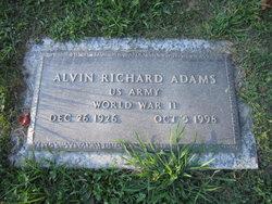 Alvin R Adams