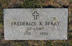 Pvt Frederick K. Berry