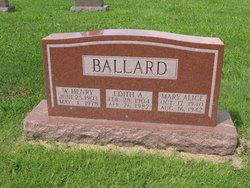 Edith Alice <i>Long</i> Ballard