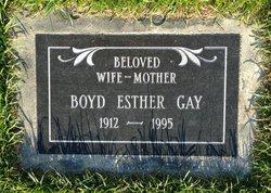 Boyd Esther <i>Stout</i> Gay