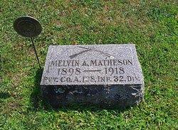 PFC Melvin A. Matheson