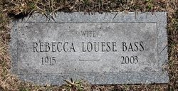 Rebecca Louise <i>Bass</i> Small