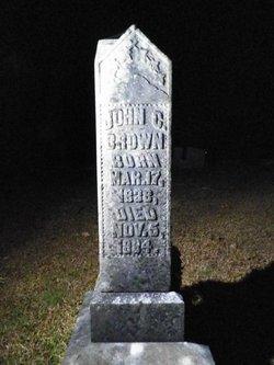 John C Brown