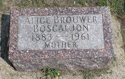 Alice <i>Brouwer</i> Boscaljon