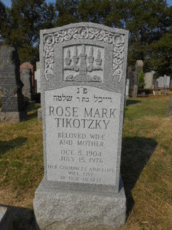 Rose <i>Rubin</i> Mark Tikotzky