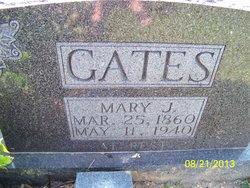 Mary Jane <i>Freeman</i> Gates
