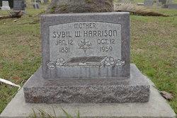 Sybil W Harrison