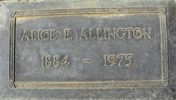 Eliza Alice <i>Morrill</i> Allington