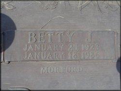 Betty J <i>Morford</i> Bricker