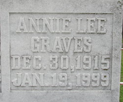 Annie Lee <i>Graves</i> Neely