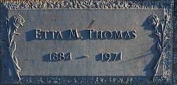 Etta May <i>Craft</i> Thomas
