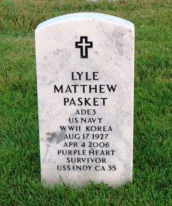 Lyle Matthew Duke Pasket
