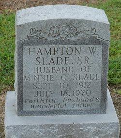 Hampton Walter Slade, Sr