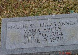 Maude Victoria <i>Williams</i> Abney