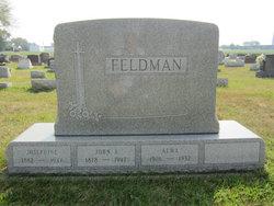 Alma Catherine <i>Boerger</i> Feldman