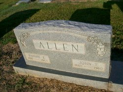 Fannie E Allen