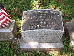 Gen David McMurtrie Gregg