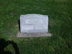 Sarah E <i>Voorhees</i> Adams