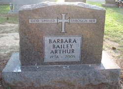 Barbara <i>Bailey</i> Arthur