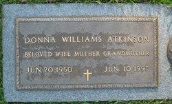 Donna Rebecca <i>Williams</i> Atkinson