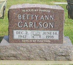 Betty Ann <i>Guida</i> Carlson