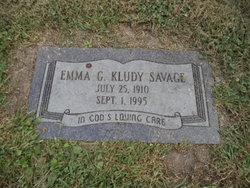 Emma <i>Savage</i> Kludy