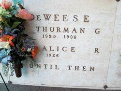 Alice Leoda <i>Redmond</i> DeWeese