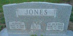 M Bertha Jones