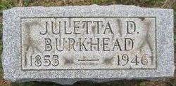 Juletta D. <i>Morris</i> Burkhead