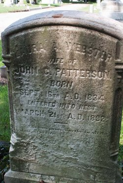 Laura A <i>Webster</i> Patterson