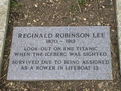 Reginald Robinson Lee